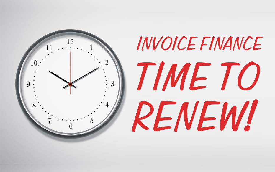 Renewing your Invoice Finance